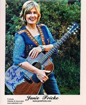 8 X 10 Original Autographed photo of Janie Fricke - $12.95