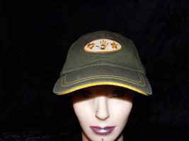 Mudd Heart, Handprint, Flower baseball cap Green womans adjustable hat - $13.99