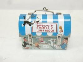Hallmark 2004 LOONEY TUNES Porky's Lunch Wagon Metal Ornament - $14.00