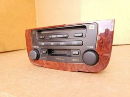 03-07 Highlander Hybrid Stereo CD Disc Cassette Player 86120-48480 image 3