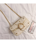 Women's Designer Handbag 2018 Fashion Rivet Women bag Pearl Crossbody ba... - $28.57