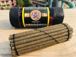 Mahakala Bhutanese Deity Small Tibetan  Incense Sticks - $5.45