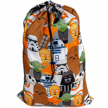 Star Wars Character Line Up Drawstring Laundry Bag Multi-Color - $16.98
