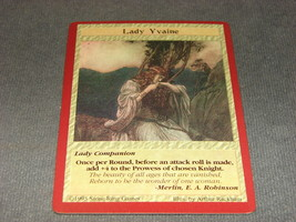 Quest For the Grail 1995 CCG: Lady Companion - Lady Yvaine - $5.00