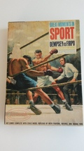 Vintage Aurora Model Kit Great Moments in Sports Dempsey vs Firpo  - $165.00