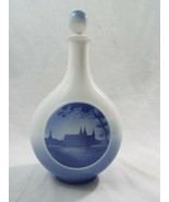 Royal Copenhagen Denmark Decanter #4426 Fredricksborg Castle in Blue and... - $17.61