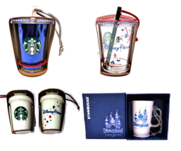 Disney Starbucks Disneyland 60th Anniversay Ornament Cup Tumbler Mug The... - $39.55+