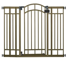 Summer Infant Multi-Use Deco Extra Tall Walk-Thru Baby Gate, Bronze - $70.99