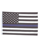 SMF Small 12 Inch X 20 Inch Replacement Flag For Whip Antenna Thin Blue ... - $19.95