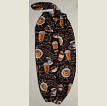 Cloth Plastic Bag/Grocery Bag Holder - Cafe Diem Coffee To Go Cups - #178A - $7.00