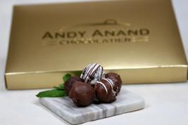 Andy Anand Rum, Irish Cream & Kahlua Belgian 16 Pc Chocolate Truffles Gift Boxed - $29.54