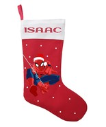 Spiderman Christmas Stocking - Personalized Spiderman Christmas Stocking - $29.99