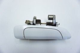 2003 Honda Civic 4 Door Passenger Rear White Outer Door Handle OEM - $34.99
