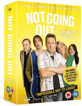 Not Going Out Complete Series 1-7 DVD Lee Mack *REGION 2 PLEASE READ LIS... - $35.95