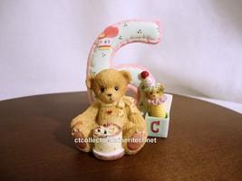 Cherished Teddies Teddies To Cherish Number Age 6 2004 NEW - $28.66