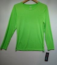 Womens Size Large Sivvan Long Sleeve Shirt, Green - $8.90