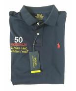 Polo Ralph Lauren 50th Birthday Performance Blue Polo Shirt L - $149.99