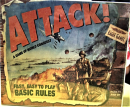 Attack! - A Game Of World Conquest (Eagle Games) - $35.00