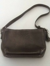 Coach leather purse Black mini purse Girls - $29.95