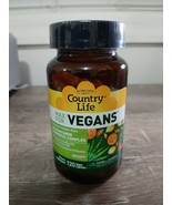 Country Life Vegetarian Support  - 120 Capsules - $27.67