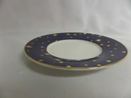 "Lot Of 3 Galaxy By Sakura Fine Porcelain Blue Star Plate Appx 6"" - $28.05"