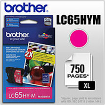Brother LC65HYM High Yield Ink Cartridge for MFC-5890CN Printer - 750 Pa... - $38.53