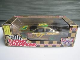 RARE NASCAR Racing Champions 1:24 Scale Die Cast Stock Car Bank John Deere IOB - $46.74