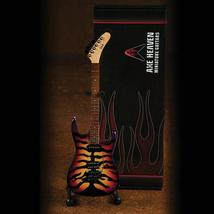 George Lynch Sunburst Tiger Finish Officially Licensed Miniature Guitar ... - $29.99