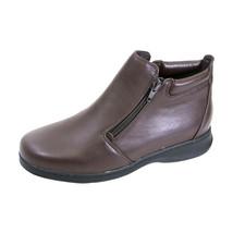 PEERAGE Juliet Women Wide Width Leather Casual Ankle Boots - $99.95