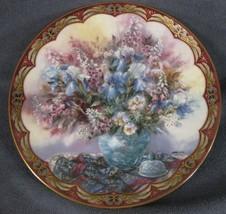 Delicate Dancers Collector Plate Lena Liu Third Flower Fairies WS George... - $35.75