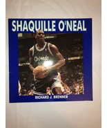 1994 Shaquille O'Neal sc BOOK Richard J. Brenner PHOTOS + Text basketbal... - $9.50