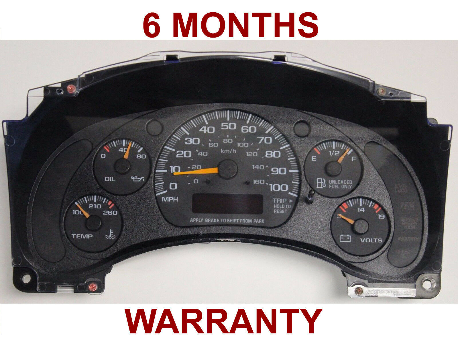 Primary image for 2002 Chevrolet Express GMC Savanah 1500, 2500, 3500 Truck  Instrument Cluster