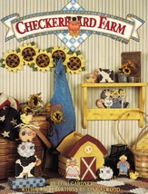Tole Decorative Painting Checkerboard Farm Country Market Garden L. Gard... - $13.99
