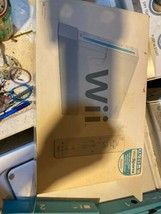 Nintendo Wii White Video Game Console. In Box. - $46.53
