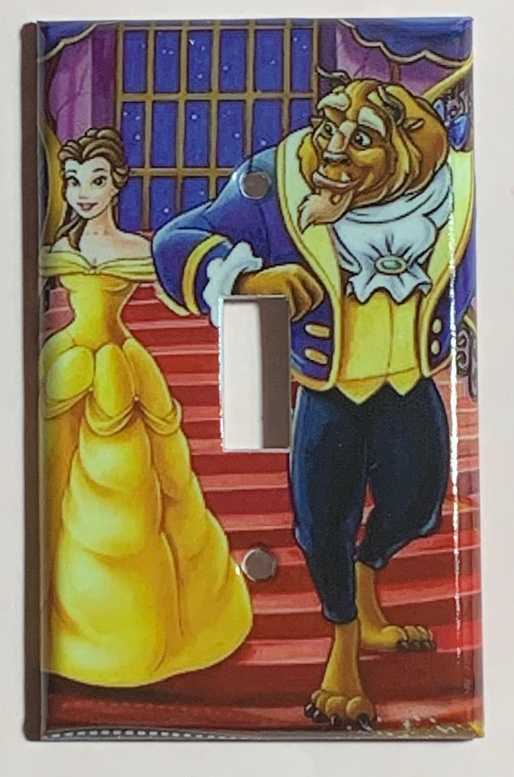 Beauty and the beast Light Switch Outlet duplex wall Cover Plate Home Decor