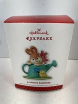 Hallmark - 2013 A Spring Surprise - Bunny - Keepsake Christmas Ornament ... - $9.85