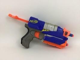 Switch Shot EX-3 Wii Blue Nerf Gun N-Strike Hasbro Blaster Removable w/ ... - $17.77