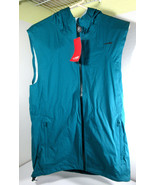 ALTRA Wasatch Waterproof Running Cycling Vest Green Spruce Hooded Medium... - $44.50
