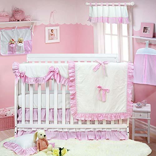 Brandream Classic Crib Bedding Sets For Girls With Crib