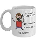 Funny Graphic Designer Coffee Mug - I See All In CMYK - Cartoon Novelty ... - $14.95+