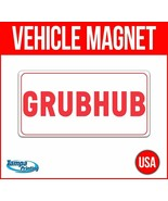 GRUBHUB Heavy Duty Vehicle Magnet Truck Car Sticker Decal Sign USA DELIVERY - $17.09+