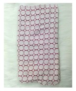 Swaddle Designs Blanket Cotton Muslin Security Baby Pink White Circle  B73 - $9.99