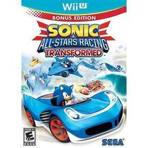 Sonic & All-Stars Racing Transformed (Nintendo Wii U, 2012 New) Video Game - €26,33 EUR