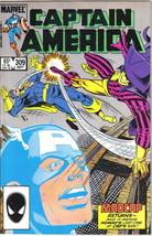 Captain America Comic Book #309 Marvel Comics 1985 VERY FINE+ NEW UNREAD - $2.50