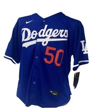 Los Angeles Dodgers #50 Mookie Betts World Series Patch Jersey - $64.34