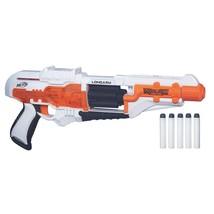 Nerf Doom Lands Long Arm Toy Gun 5 Shot Slide Back Shooting child Kid To... - $15.43