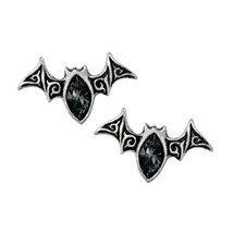Alchemy Gothic E394  Viennese Nights Studs Earrings - $22.74