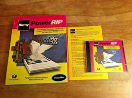 Vintage 1999 Birmy PowerRIP Software | Adobe PostScript 3 | Power MacIntosh - $11.75