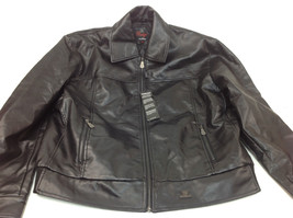 Collezione Bulgo Di Milano Women's Leather Winter Jacket Size XXL - $79.19