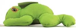 1 Count Multipet Cuddle Buddies Cuddle Squeak Shake Chew Throw Dog Toy Frog - £14.29 GBP